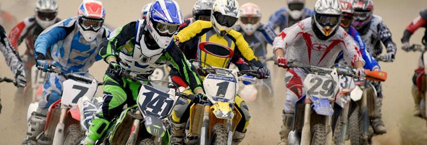 Accessoires de moto cross