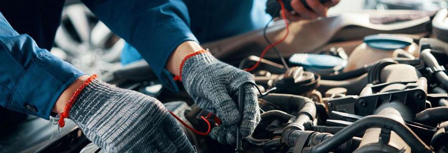 fonctionnement du moteur d'une voiture