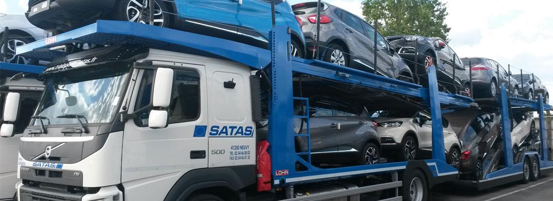 transports de vehicules